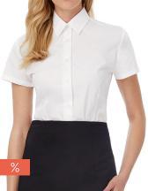 Poplin Shirt Smart Short Sleeve / Women