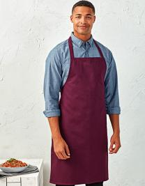 100% Organic Cotton Bib Apron (No Pocket)