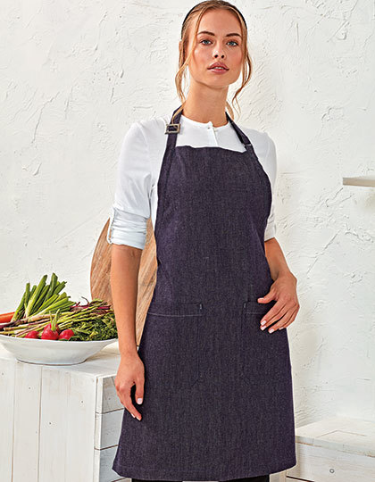 Organic Denim Fairtrade Bib Apron